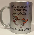 Complicated person be unicorn Personalised Mug